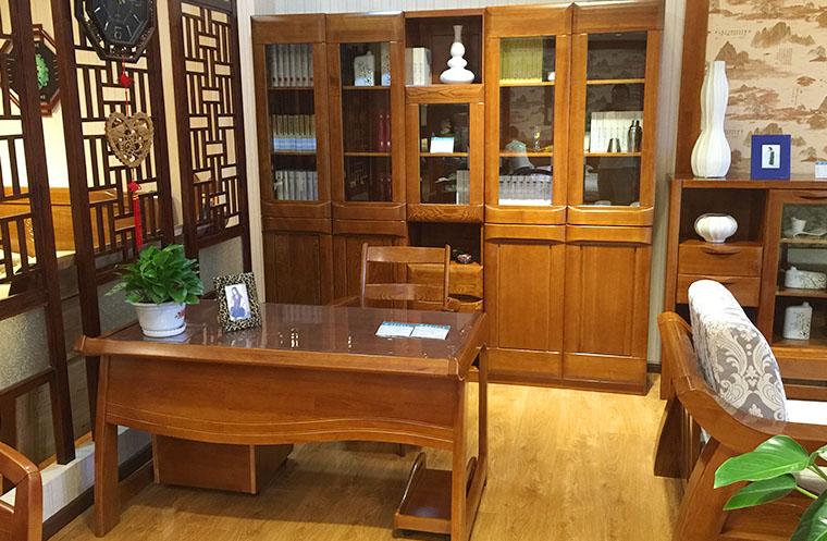 实木办公家具多少钱