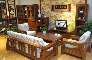 生产实木家具
