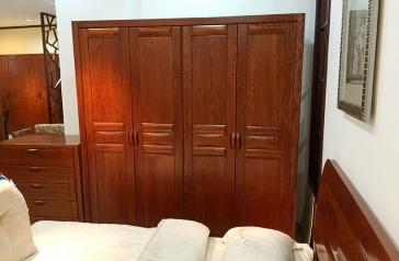 实木衣柜生产